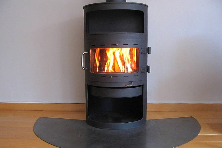 Photo of a wood stove